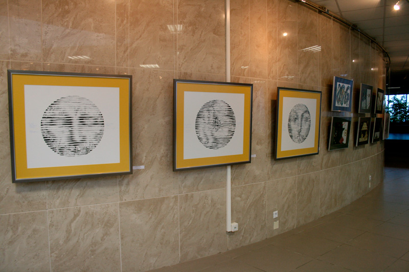 VI international exhibition of graphic «Art Line»